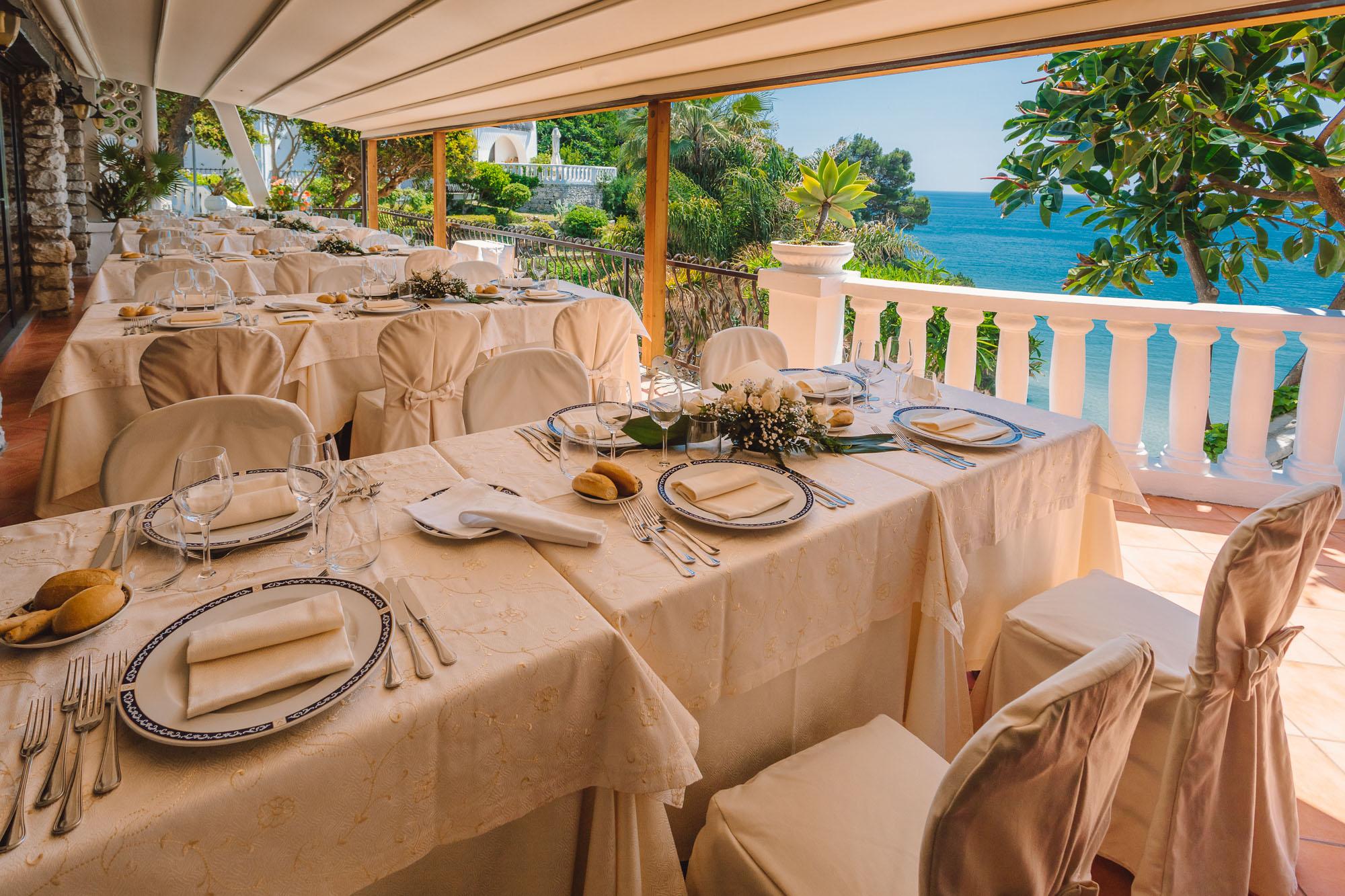 Terrazza Degli Ulivi Restaurant Grand Hotel Le Rocce